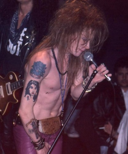 axl rose and slash � featured items 171 the golden closet