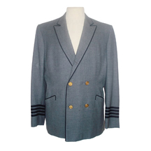 "D0145 FB Featured Item: ""Capt. Verner Demerest"" (Dean Martin) pilot coat from ""Airport"""