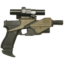 P00194 FB Featured Item: M70 prop pistol used in Space Above and Beyond