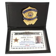 Pierce  Glenn Morshower  Secret Service ID card badge holder from  quot 24Secret Service Agents Badge