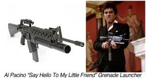 P01126-Al Pacino-Scarface Grenade Launcher
