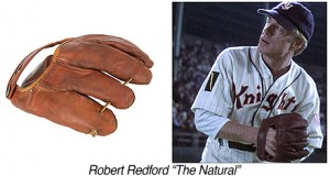 P01200-Robert Redford-The Natural-Leather Baseball Glove copy