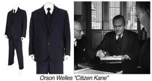 R0178-Orson Wells-Navy Chalk Stripe 3pc Suit Citizen Kane V3 copy