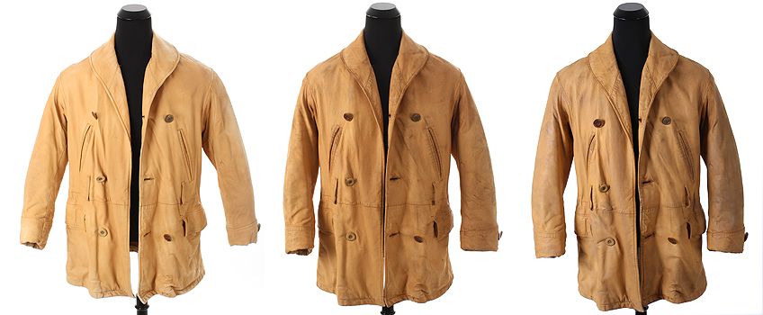 Featured Story: The restoration of Brad Pitt's leather work coat ...