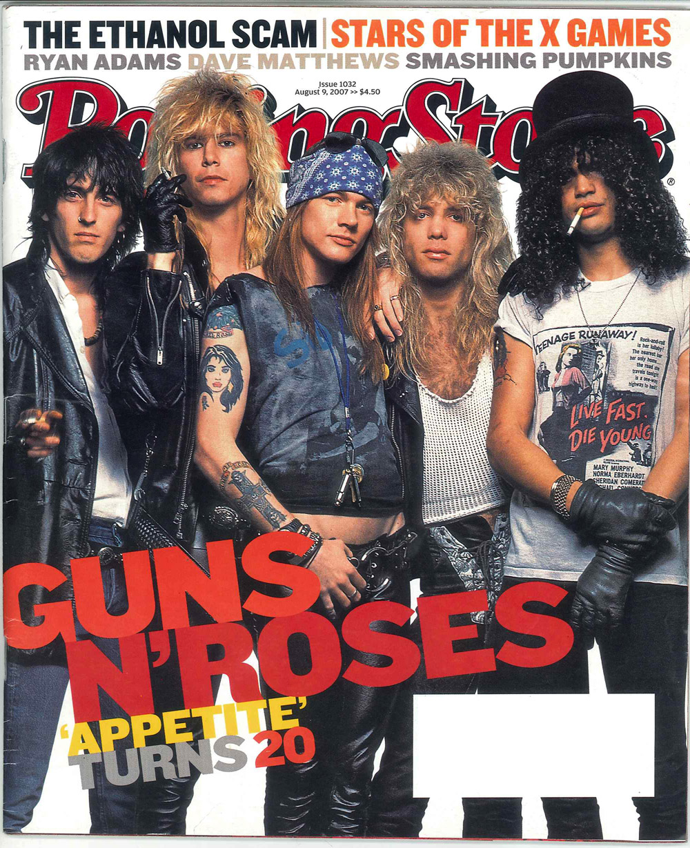 scanned full image forweb Axl Rose and Slash   Featured items