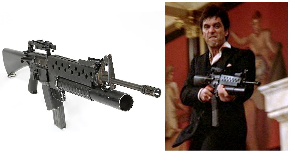 Al Pacino Say Hello To My Little Friend Grenade Launcher ... Al Pacino Scarface