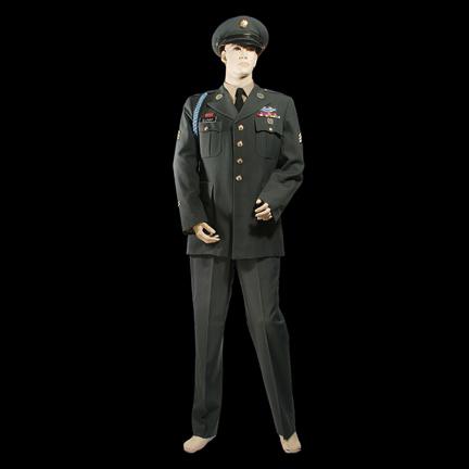 8a0d3a8b01e01 FORREST GUMP - Forrest Gump (Tom Hanks) Class A military uniform   The  Golden Closet