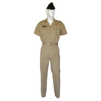 a0ff7de9c8049 FORREST GUMP - Forrest Gump (Tom Hanks) Khaki Military Dress Uniform   The  Golden Closet