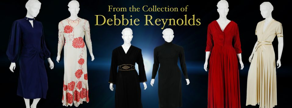 Debbie Reynolds Couture Studio Gowns