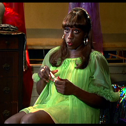TO WONG FOO, THANKS FOR EVERYTHING JULIE NEWMAR - Noxeema (Wesley Snipes)  Green Robe | The Golden Closet