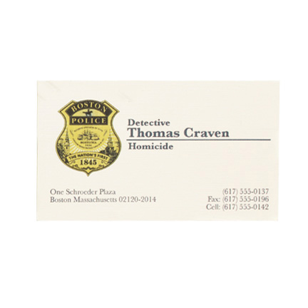Edge of darkness thomas craven mel gibson boston pd detective id edge of darkness thomas craven mel gibson boston pd detective id business card and ma drivers license the golden closet reheart Images