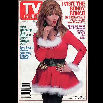 Married With Children Christmas.Married With Children Peg Bundy Katey Sagal Mrs Clause