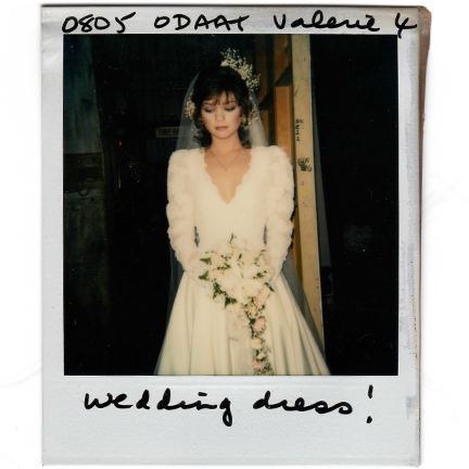 One Day At A Time Barbara Cooper Valerie Bertinelli Wedding Gown The Golden Closet
